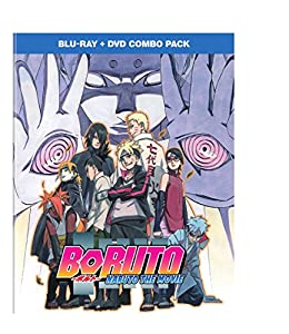 Cover Image for 'Boruto - Naruto the Movie combo pack [Blu-ray + DVD]'