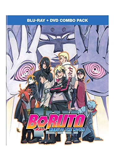 Boruto - Naruto the Movie combo pack (BD/DVD) [Blu-ray]