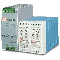 PWR-60-24 24V, 60W Din-Rail Power Supply (MDR-60-24) - slim type