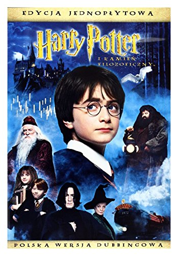 Harry Potter and the Sorcerer's Stone [DVD] (English audio. English subtitles) (Harry Potter And The Sorcerers Stone English Subtitles)