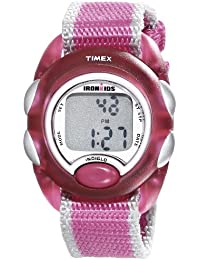 Kids T7B9809J IronKids Translucent Pink Resin Strap Watch