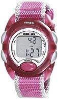 Timex Kids' T7B9809J IronKids Translucent Pink Resin Strap Watch