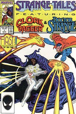 Strange Tales Featuring Cloak & Dagger and Doctor Strange First Collectors Item Issue  Vol. 2  No. 1  April 1987