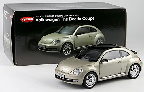 (1:18 VOLKSWAGEN THE BEETLE COUPE MOON ROCK SILVER 08811MS BY)