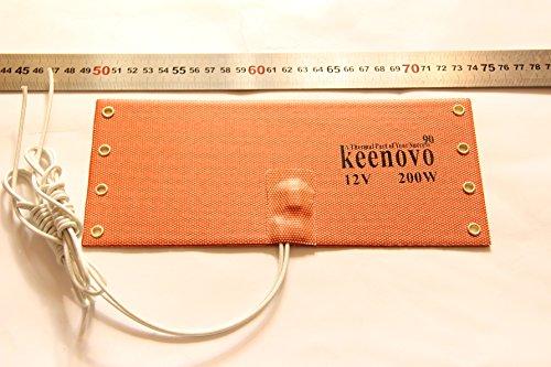 12V 200W KEENOVO WVO Diesel Fuel Filter Heater NOS Bottle Heater w/ T-stat 90C - Nos Diesel