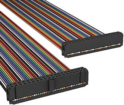Pack of 10 A3CCH-4006M AKC40H//AE40M//AKC40H IDC CABLE