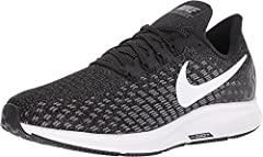 Nike Air Zoom Pegasus 35 (4E) Men's Running Shoe has been re-imagined with fast design language and a quicker, smoother transition than ever. A full-length Zoom Air unit and beveled heel provide a quick responsive ride, while Flywire cables l...
