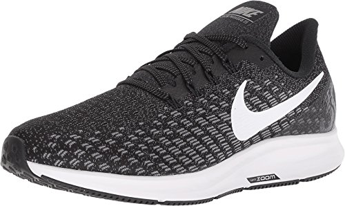 Nike Men's Air Zoom Pegasus 35 Running Shoe Wide 4E Black/White/Gunsmoke Oil Size 11 Wide 4E