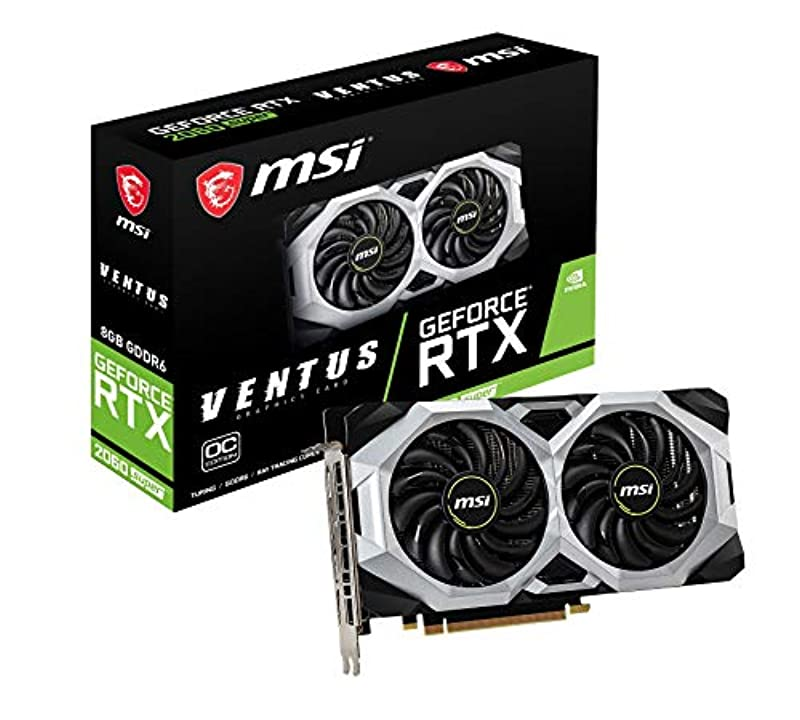 MSI GeForce RTX 2070 SUPER VENTUS OC 그래픽스 보드 VD7017