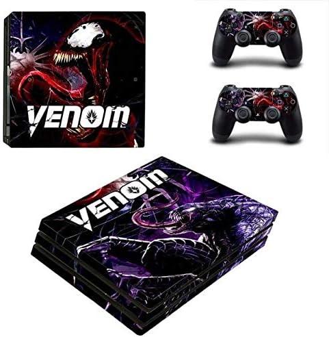 Skin Design Aufkleber f/ür Konsole Spiderman Venom