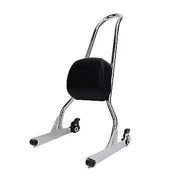 Passenger Soft tail Rear Cushion Pillion Seat For Harley Davidsion Fat Boy FLSTF