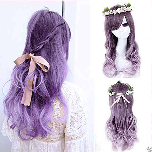 OhYes-Harajuku-Ombre-Wig-Grey-Mixed-Purple-Pelucas-Pelo-Curly-Natural-Synthetic-Wigs-Heat-Resistant-Halloween-Perruque-Anime-Cosplay-Wigs-Manic-Panic