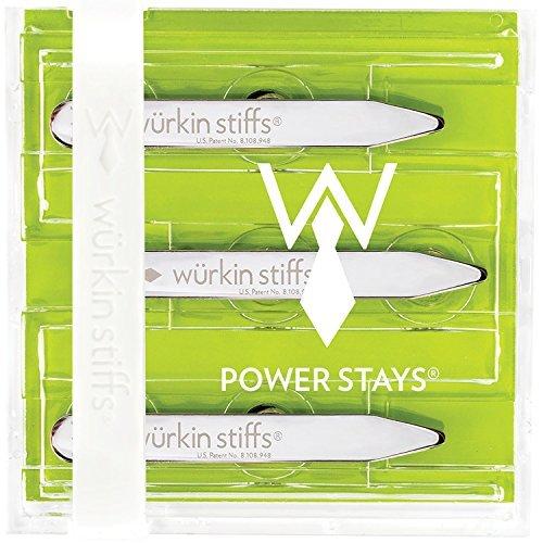 Wurkin Stiffs 2.5-inch Power Collar Stays 3 - Collar Shirt Stiff