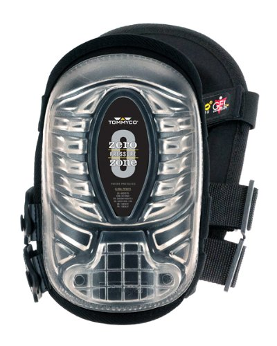 Tommyco EXT707 Injected GEL Knee Pads With Sewn On All Terrain Cover (Terrain All Knee Pads)