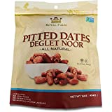 Royal Palm Deglet Noor Dates Pitted (16 oz), All Natural, Certified Vegan, Gluten Free, NON-GMO Verified, Kosher