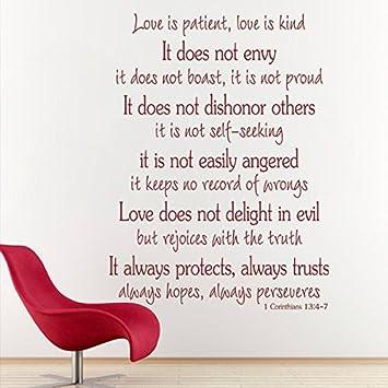 Amazon.com: Love is Patient, Love is Kind - 1 Corinthians 13 ...