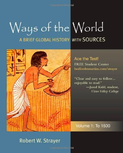 Ways Of The World,Brf.Glob.Hist.,V.1