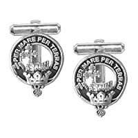 MacDonald (Isles) Scottish Clan Crest Cufflinks