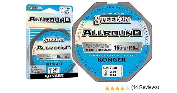 Konger Allround - Sedal de Pesca con Revestimiento de ...