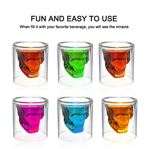 Favson Sizes Halloween Skull Cup Wine Head Creative