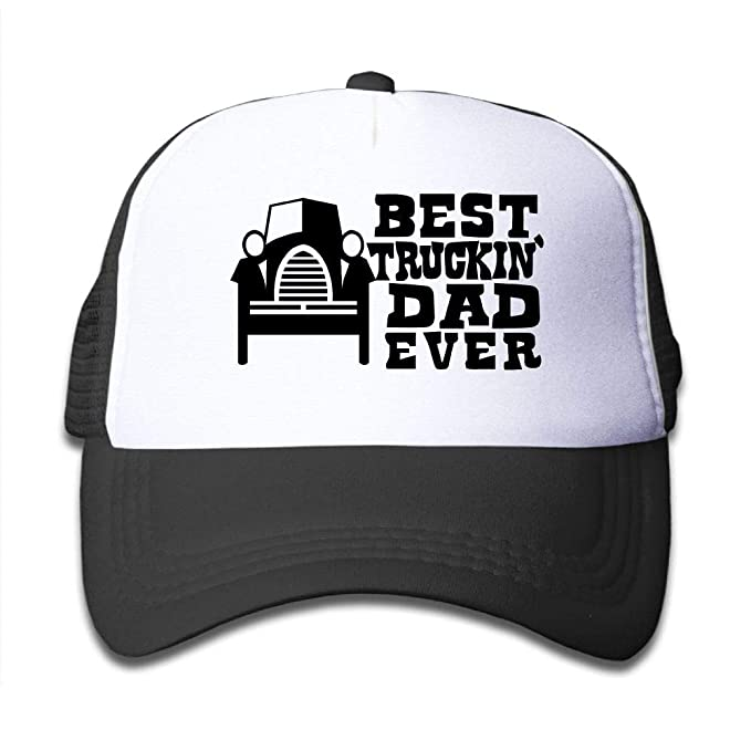 af15cb55d64 Amazon.com  Banana King Best Dad Ever Baby Boys Girls Mesh Hats Baseball  Trucker Caps Kids Toddler  Clothing
