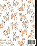 Wide Ruled Composition Book: Cute Shiba Inu