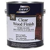 DEFT/PPG ARCHITECTURAL FIN DFT011/01 Gallon Clear Semi Gloss Wood Finish