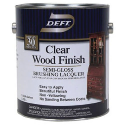DEFT/PPG ARCHITECTURAL FIN DFT011/01 Gallon Clear Semi Gloss Wood Finish ()