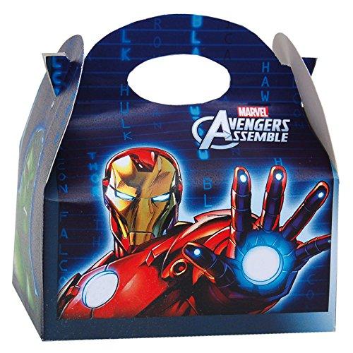 Henbrant Marvel Avengers Party Food Box, 12pk ()