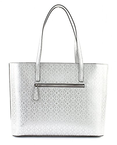 Guess Borsa Donna Jayne tote Argento