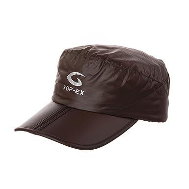 PLMWQAVDFN Sombrero de los Hombres Sombrero Plegable al Aire Libre ...