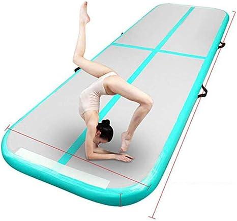 BOOSSONGKANG Estera de Yoga 3m 4m 5m 6m Colchonetas de Gimnasia Pista de Aire Inflable Colchoneta de Yoga Gimnasia olímpica Tumble Airt: Amazon.es: Deportes y aire libre