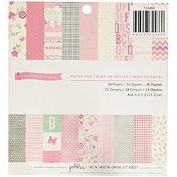 36-Sheet Pink Cardstock