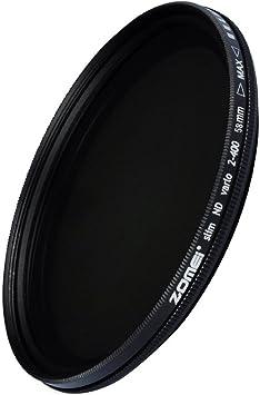 Pro Calidad Slim Cpl Filtro 49-Polarizador Circular-Hd De Cristal