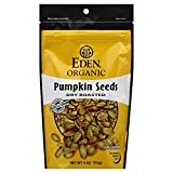 Eden Pumpkin Seeds Dry Roasted Salted, 4.0 OZ (Pack – 6) Review