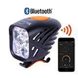 NEW 2017 Magicshine MJ 906B Bluetooth Bicycle Light 3200 Actual Lumens Front Bike Light, USB Rechargeable 5 CREE XM-L2 LEDs Super Bright Bike headlight for Mountain, Off road and Enduro Night rides