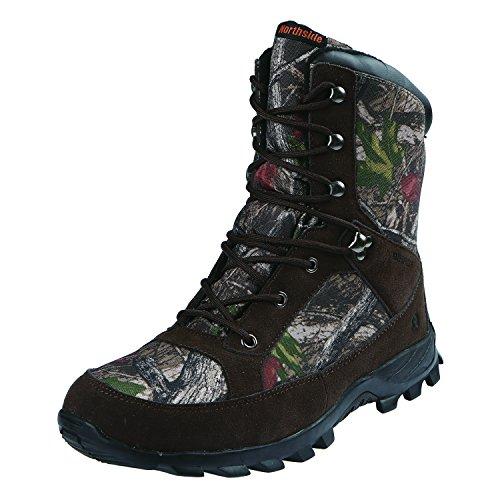 9c285ef8ab3c Northside Mens Forrester Waterproof 200 Gram Leather Hunting Boot