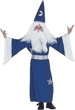 Disfraz de Mago Gandalf Mago Disfraz Disfraz de Mago Merlin mágica ...