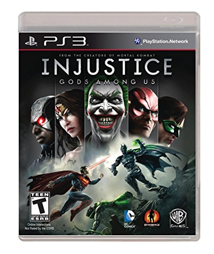 Injustice: Gods Among Us - Playstation 3 (Ps3 Games Fighting)