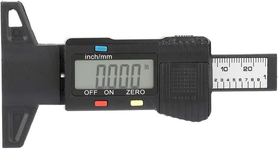 Mesureur de Jauge de Testeur de fil de Pneu de Jauge de Profondeur de la Bande de Roulement /électronique Num/érique LCD