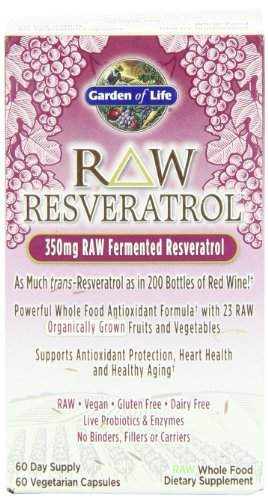 Garden of Life Raw Resveratrol Multivitamins, 60 Count, Health Care Stuffs