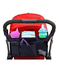 Stroller Organizer By Lebogner, Premium Deep Insulated Stroller Cup Holder To Keep Warm Or Cold Bottles, Stroller Accessories
