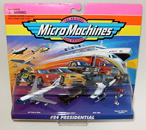Micro Machines Presidential Vehicles #24 B Collection