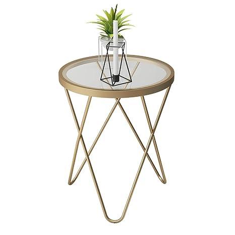 Amazon.com: Mesas de café para salón, sofá, esquina lateral ...