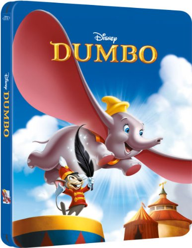 Dumbo UK Blu-Ray Steelbook Edition Limited to 4,000 Copies Regions B,C