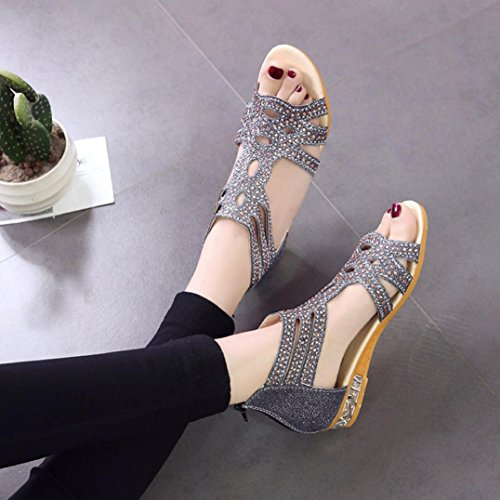 Ete Peep Sandales Sandales Chaussures Femmes ❤️ Plateforme Tongs Toe Mode Femme Noir Xinxinyu Chaussures 0qwXqH
