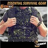 Atomic Bear Paracord Bracelet (2 Pack) - Adjustable