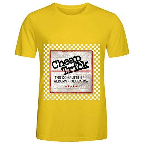 Cheap Trick The Complete Epic Albums Collection Hits Mens O Neck DTG Tee (A Cut Above Quilt Book)