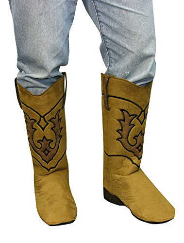 Cowboy Boot Top Covers Costume Accessory - Boot Covers Costumes Accessory