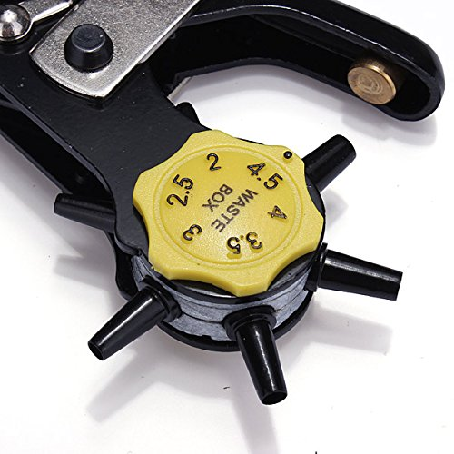 Leather Belt Hole Punch Plier Belt Holes Digger BS203289 Review